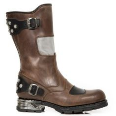 Botte en cuir M.MR035-C1 New Rock