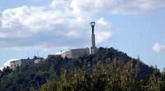 Szabadság szobor a Gellért hegyen