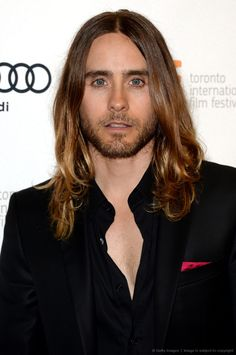 Jared Leto on the red carpet #TIFF #DallasBuyersClub