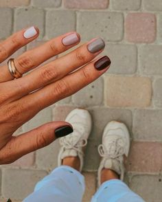 best winter nails ideas to wear this year 33 ~ my.me best winter nails ideas to wear t. Cute Nails, Pretty Nails, Cute Fall Nails, Simple Fall Nails, Hair And Nails, My Nails, Shellac Nails, Manicures, Short Gel Nails
