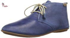 Pikolinos  Calabria 7124, Chaussures de ville à lacets pour femme, Bleu - Blau (NAUTIC), 8 UK - Chaussures pikolinos (*Partner-Link)