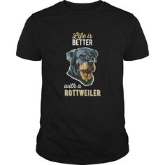 #Rottweiler  Life is better with a #Rottweiler Order HERE ==> https://www.sunfrog.com/Pets/110744044-329939690.html?41088 Please tag & share with your friends who would love it  #xmasgifts #renegadelife #superbowl
