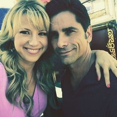 Jodie Sweetin and John Stamos