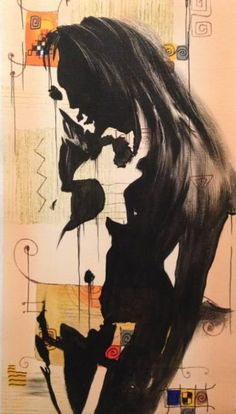 "Saatchi Art Artist Eka Peradze; Painting, ""SOLD.Romance. 35x70cm.#57/6"" #art"