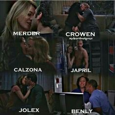 Grey's anatomy..... Not particularly fond of #Calzona but love the couples....