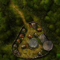 Iron Tower Mercenary Camp from Cartographers' Guild