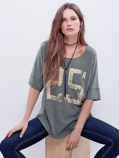 We The Free Tailgate Graphic Tee at Free People Clothing Boutique