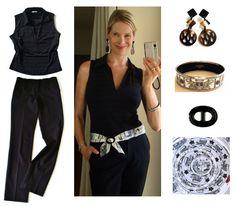 MaiTai's Picture Book: Paris capsule revisited ~ three black summer looks and capsule wardrobe #13