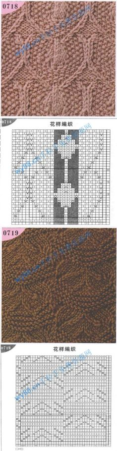 ... patterns ?.2 on Pinterest Picasa, Cable knit and Knitting stitches