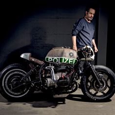 Police forces around the world love BMW motorcycles. But we've never seen one quite like this. Built by Switzerland's VTR Customs, it's running a supercharger AND a nitrous oxide system.