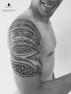 Maori tattoo sleeve @INKFINITY