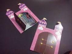 Resultado de imagen para tarjetas de invitacion con forma de castillo