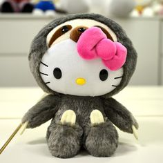 """Hello Kitty 8"""" Plushie: Sloth 