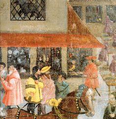c. 1520s - Die Augsburger Monatsbilder (The Augsburg Mural) Herbst:November