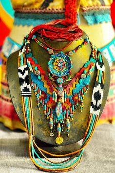~ my creations ~ by AowDusdee, via Flickr #bohemian ☮k☮ #boho