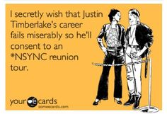 Justin Timberlake NSYNC hopeful for a reunion