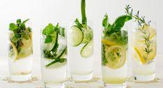レモングラスやローズマリーなど他のハーブを使ったハーブカクテル