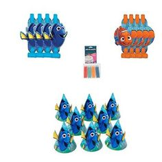 #Christmas More suggest Finding Dory Party Hats and Blowouts with Bonus Colorific Candles for Christmas Gifts Idea Sale . Selecting  Christmas Toys intended for kids may be easy, any time picked after due thought, Christmas Toys may offer the possibility for a youngster to learn something, however may also be a serious w...