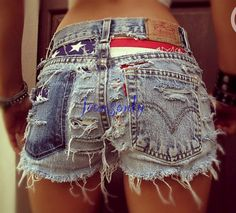 American flag clothinghigh waisted American flag by Jeansonly, $59.99