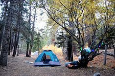6 camping sites within an hour of LA  http://m.la.curbed.com/archives/2014/07/6_awesome_campsites_within_about_an_hour_of_los_angeles.php