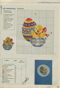 ♥Meus Gráficos De Ponto Cruz♥: Ovos de Páscoa Decorados em Ponto Cruz