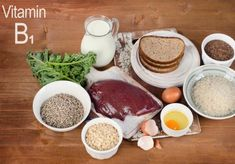 Vitamin or Thiamine plays a key role in maintaining a healthy nervous system and improving the cardiovascular health. Dinner Recipes For Kids, Healthy Dinner Recipes, Kids Meals, Vitamin Rich Foods, Fat Burning Detox Drinks, Diet Plan Menu, Health And Nutrition, Health Tips, Healthy Treats