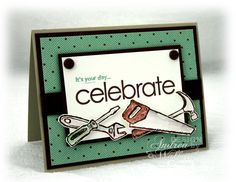stampin up card ideas | Masculine Birthday Card :: Andrea Walford - Artist, Paper Crafter ...