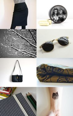 Dark Details for a Glamorous Christmas  by bloody marianne on Etsy--Pinned with TreasuryPin.com #PTteamEtsy #ChristmasColorsProject #EtsyEurope #Portugal