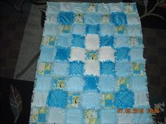 RAG QUILT FOR BABY/TODDLER - via @Craftsy