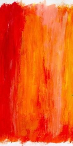 Vibrant orange & yellow paint. #abstract #inspired                                                                                                                                                      More