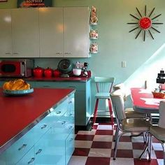 Retro Checkerboard Floors