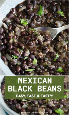 Taco Side Dishes, Mexican Side Dishes, Side Dishes Easy, Vegetable Side Dishes, Side Dish Recipes, Side Dishes For Fajitas, Vegetable Recipes, Mexican Beans Recipe, Mexican Black Beans