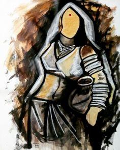 Buy Painting Tune Of Lord Shiva Artwork No 11603 by Indian Artist Mrinal Dutt - Indian Art Paintings, Buy Paintings, Modern Paintings, Mural Painting, Figure Painting, Tango Art, Ganesha Art, Social Art, Indian Artist