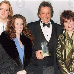 Johnny Cash June Carter Family | ... right – John Carter, June Carter Cash, Johnny Cash and Rosanne Cash