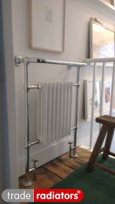 Niall Persaud's Wentworth Traditional Towel Rail from Trade Radiators