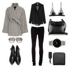 Untitled #521 by fashionlandscape on Polyvore featuring polyvore, fashion, style, Vanessa Bruno, Exclusive for Intermix, J Brand, Satine, Kara, Larsson & Jennings, CÉLINE, women's clothing, women's fashion, women, female, woman, misses and juniors