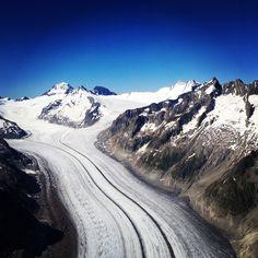 Aletsch Glacier, Bern, Switzerland