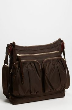 Wallace Mia Nylon Crossbody Bag in Brown (latte bedford) ae6747567d114