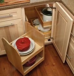 Solutions for Blind Corner Cabinets I need to figure out how to build this...