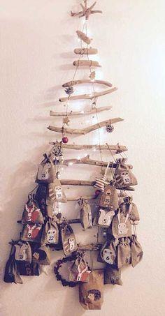 Se Deko Zu Weihnachten Aus Holz Ist Schnell Selbstgemacht So Einfach Mit Treibholz Und