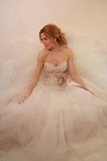 Latte dreams in tulle - Victoria Nicole Wedding Gowns #wedding