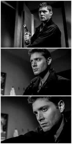"""Jensen Ackles as Dean Winchester - Supernatural - 2x09 """"Croatoan"""""""