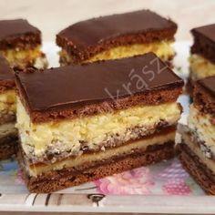 Hólabdapudingos mézes krémes (tejszín ízű pudinggal is isteni!) Cake Cookies, Tiramisu, Snacks, Ethnic Recipes, Dios, Kuchen, Caramel, Appetizers, Tiramisu Cake