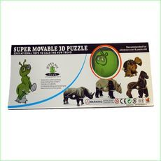 3D Wind Up Puzzle 5 Piece Gift Pack - Animal Puzzles - Green Ant Toys www.greenanttoys.com.au