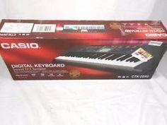 Casio 61 Key Sound EFX Sampler Digital Keyboard CTK-2090
