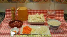 Receta de arroz con coliflor