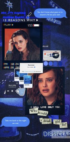 13 Reasons Why Netflix, You Matter, What Goes On, Blame, Random, Casual