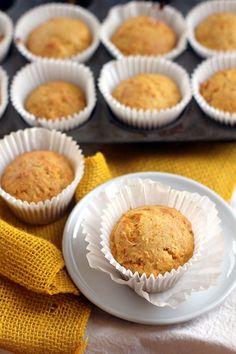 Orange Date Carrot Muffins