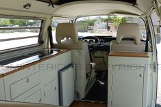 Camper interior gallery showing our range of VW interiors from Kustom Interiors, based in Cornwall Vw Minibus, Vw T3 Syncro, T3 Vw, Volkswagen Bus, Vw Camper, Combi Vw T2, Kombi Clipper, Kombi Trailer, Kombi Home
