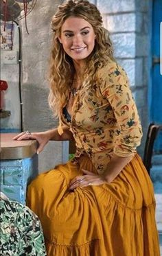 0176c3c5365a3 Lily James as Donna from Mamma Mia 2 is who i want to be.